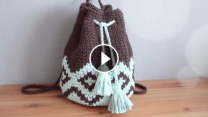 Mochila Tapestry Crochet Free Pattern