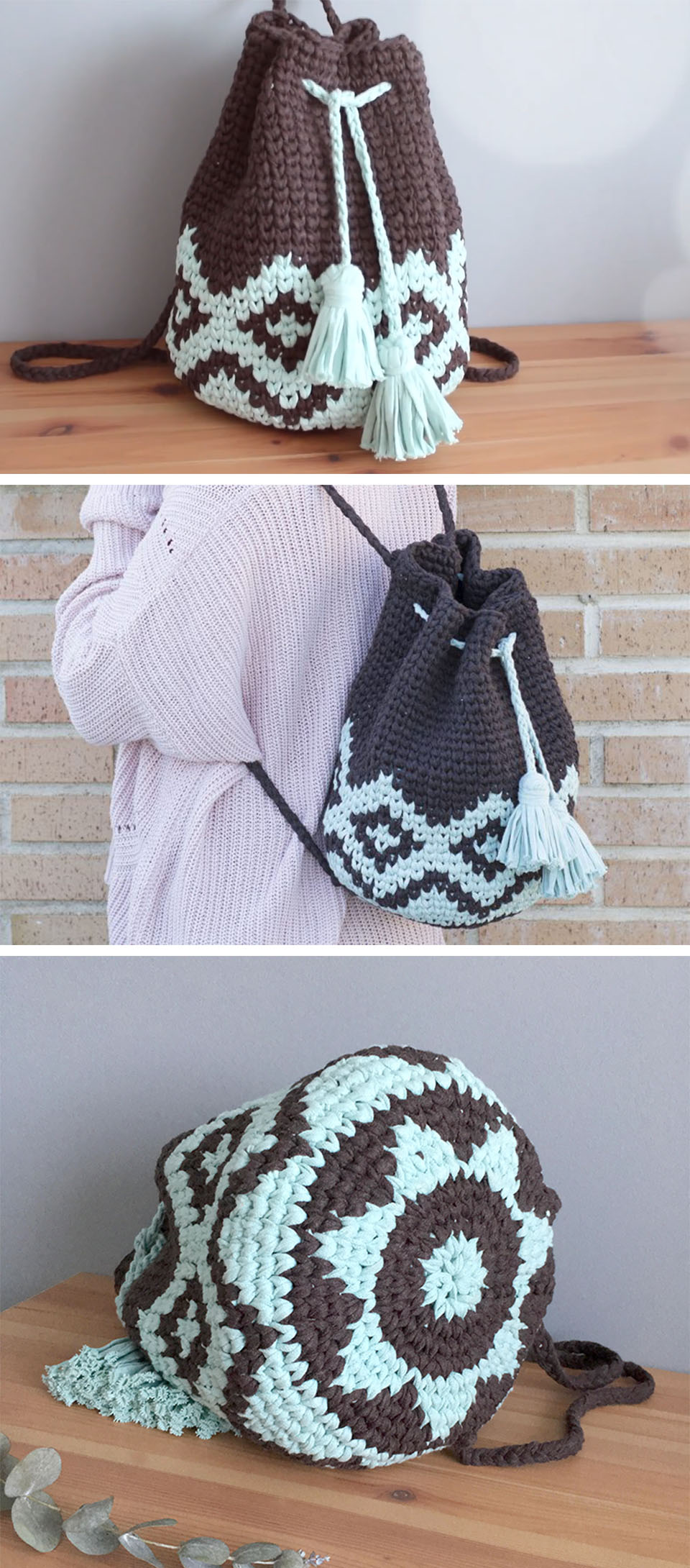 Mochila Tapestry Crochet Tutorial