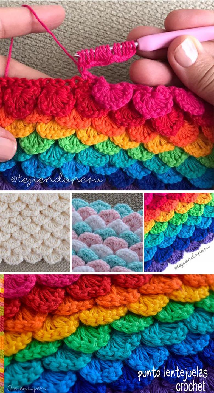 Learn The Crochet Crocodile Stitch Pattern Crochetbeja
