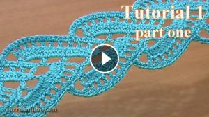 Stripy Lace Crochet Tutorial