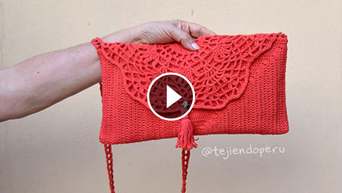 Pretty Handbag Crochet Pattern Tutorial