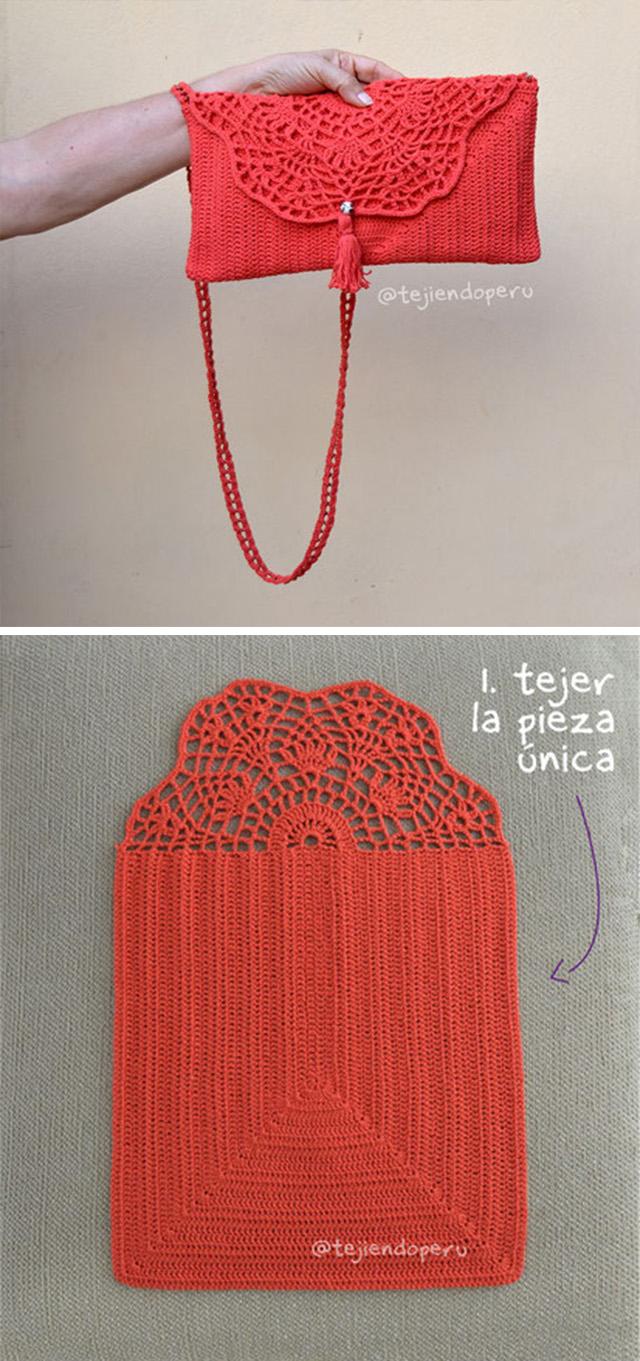 Handbag Crochet Pattern Tutorial