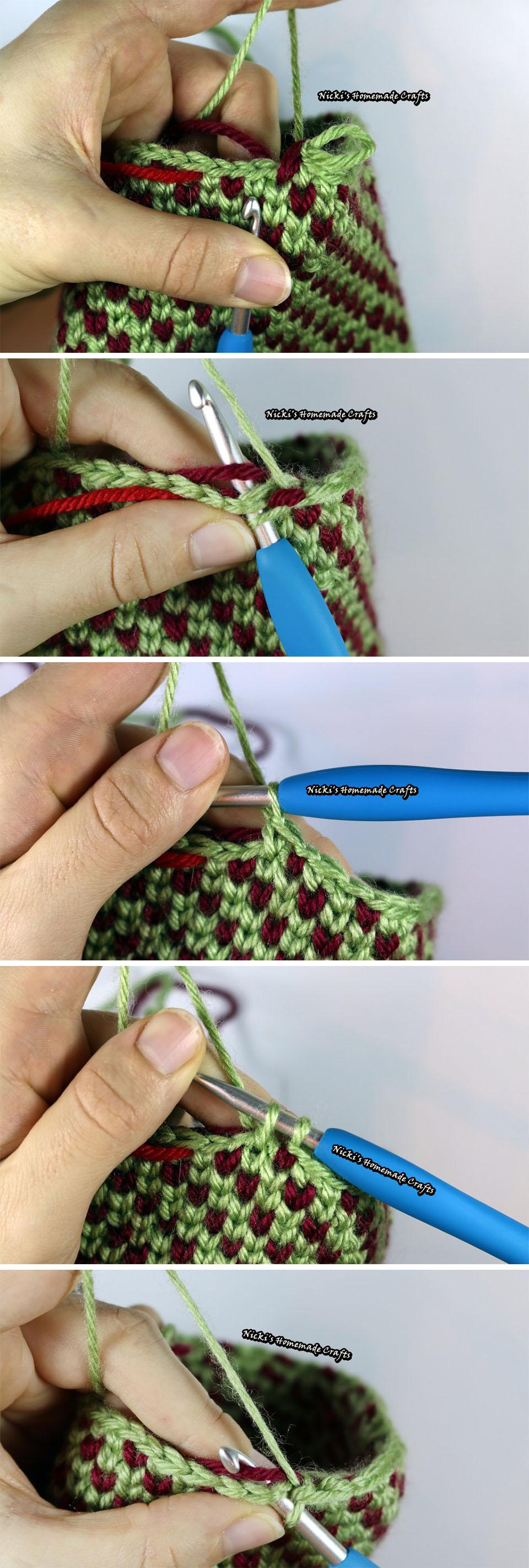 Knit Stitch Crochet Pattern