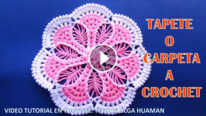 Puff Stitch Doily Crochet Tutorial