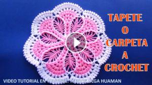 Puff Stitch Doily Crochet Tutorial