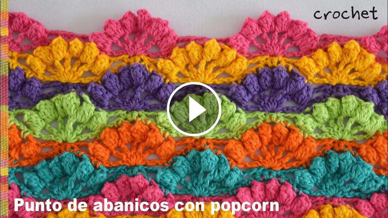 Fan Stitch Crochet Pattern Featured Image