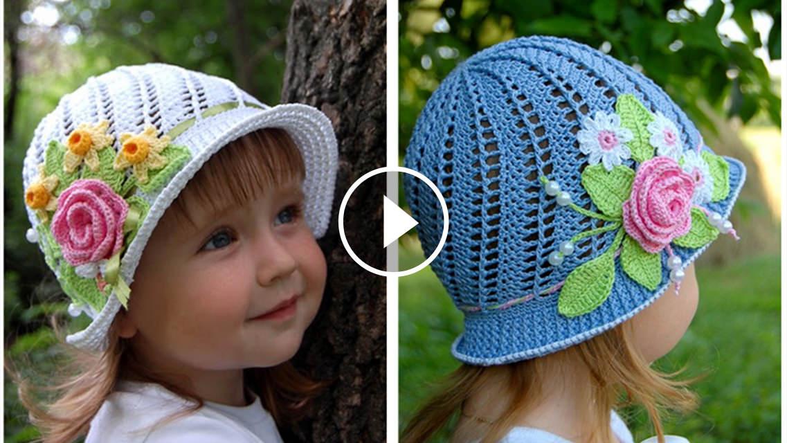 Panama Hat Crochet Pattern Tutorial