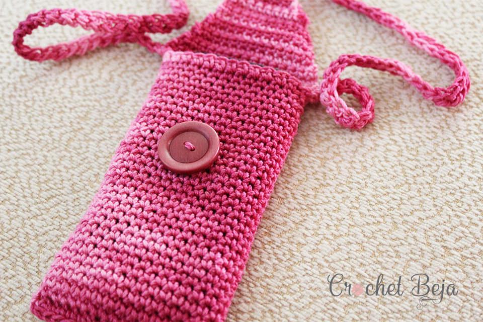Fancy Phone Case Crochet Free Pattern Preview 1