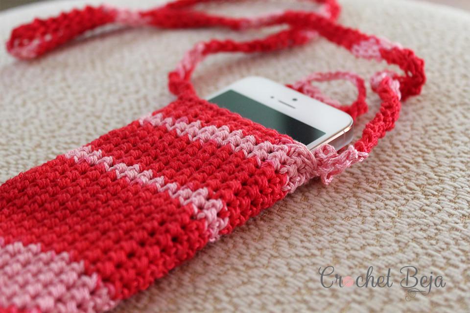 Fancy Phone Case Crochet Free Pattern Preview 4