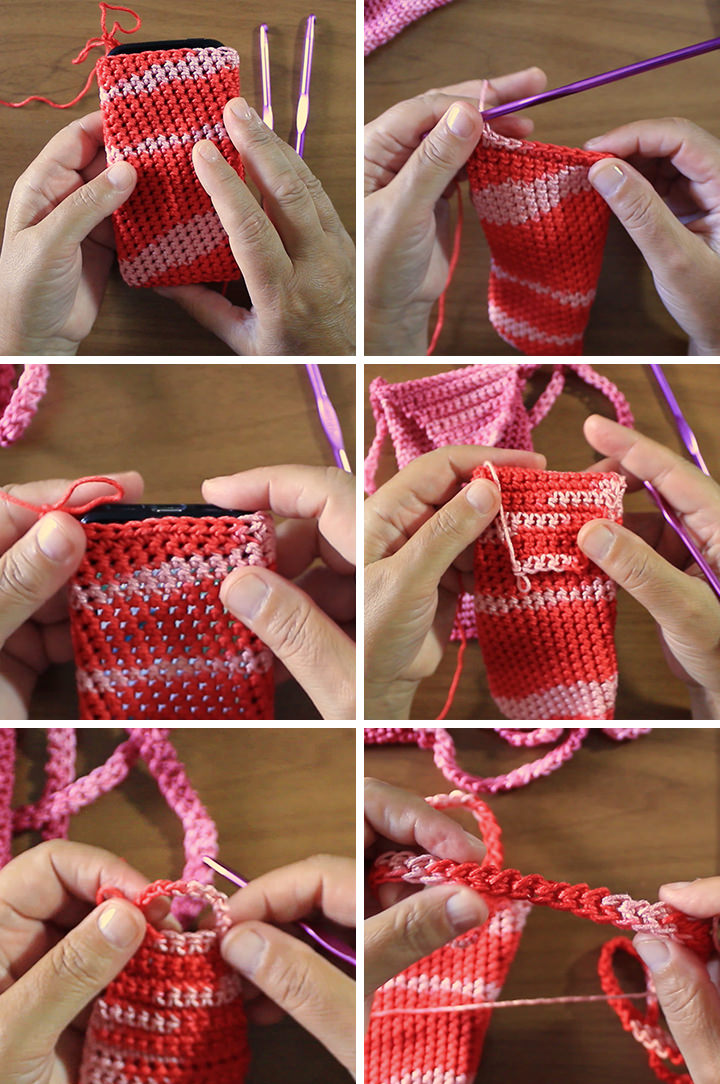 Phone Case Crochet Free Pattern Parts
