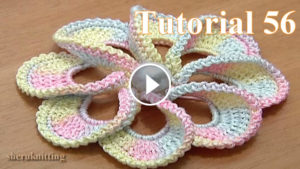 3D Spiral Flower Crochet Pattern Tutorial