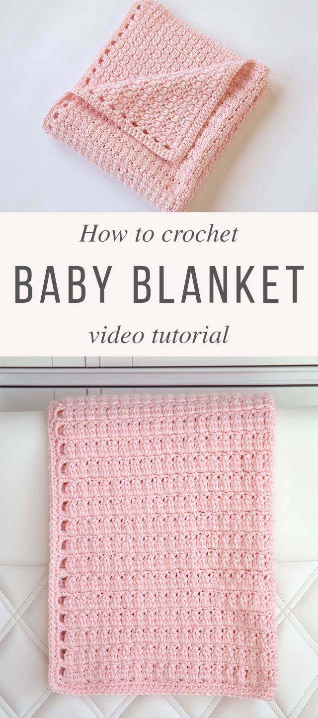 Cozy Clusters Blanket Crochet Pattern Tutorial