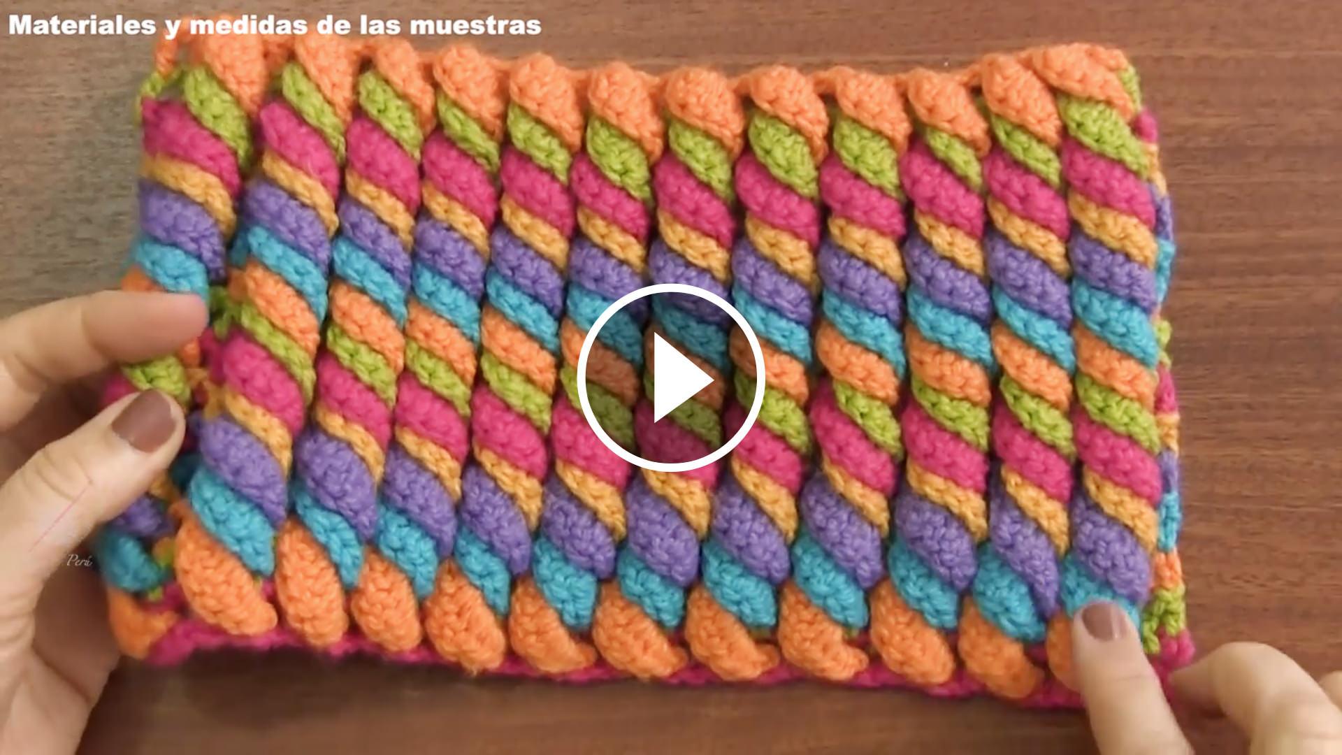 Serpentine Stitch Crochet Tutorial