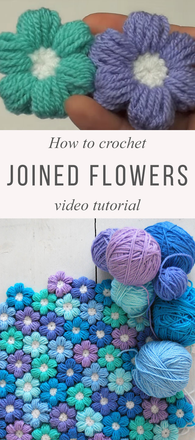 Puff Flower Crochet Pattern You Need To Learn Crochetbeja