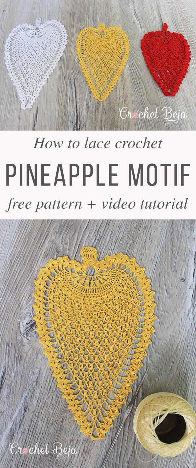 Crochet Pineapple Pattern Anywane Can Learn Crochetbeja