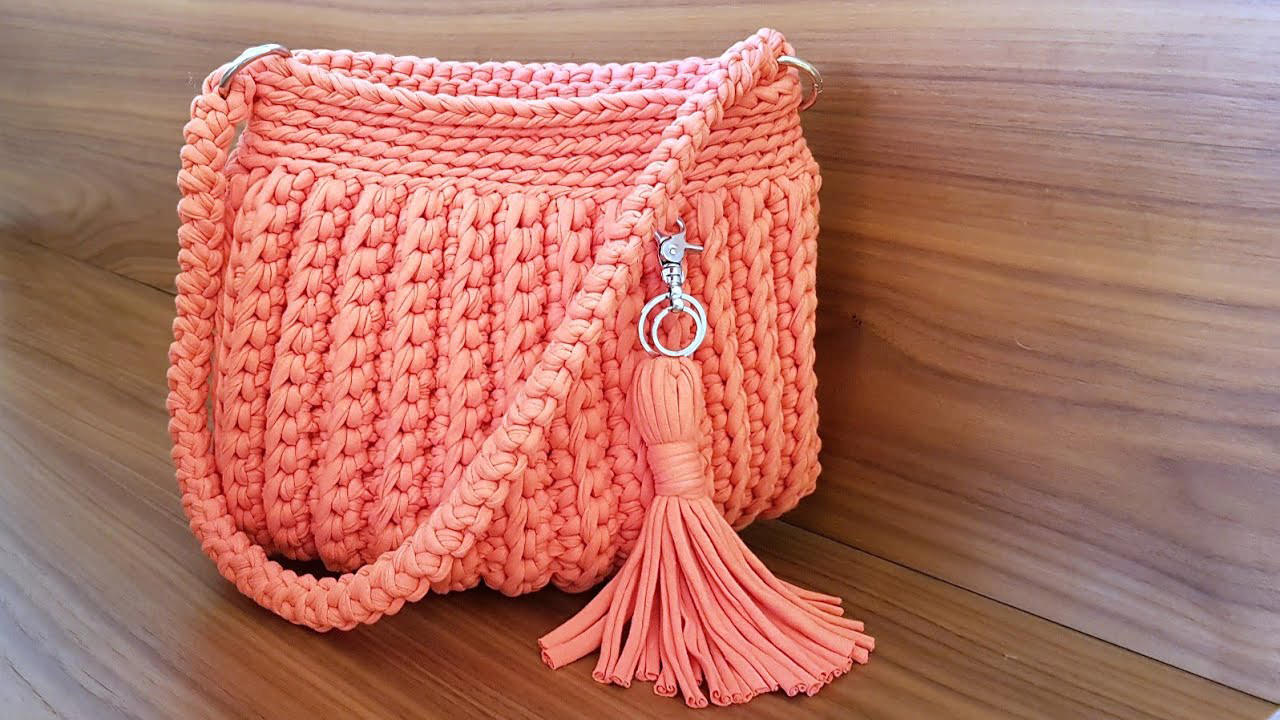 Elegant Crochet Handbag You Can Easy Make Crochetbeja