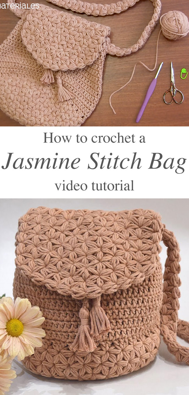 Easy Crochet Bag Tutorial Step By Step Crochetbeja