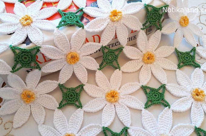 Crochet Flower Pattern Image